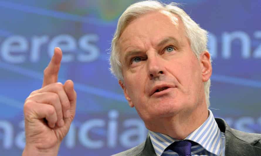 French minister Michel Barnier