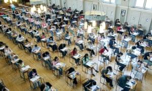 Kids in an exam room