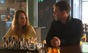 'She's a wee firecracker' ... Compston as Daniel in Traces with Molly Windsor (Emma).