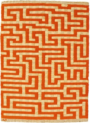 Red Meander, 1954 by Anni Albers.