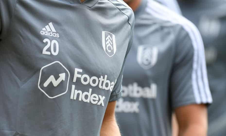 Fulham were one of the clubs sponsored by Football Index