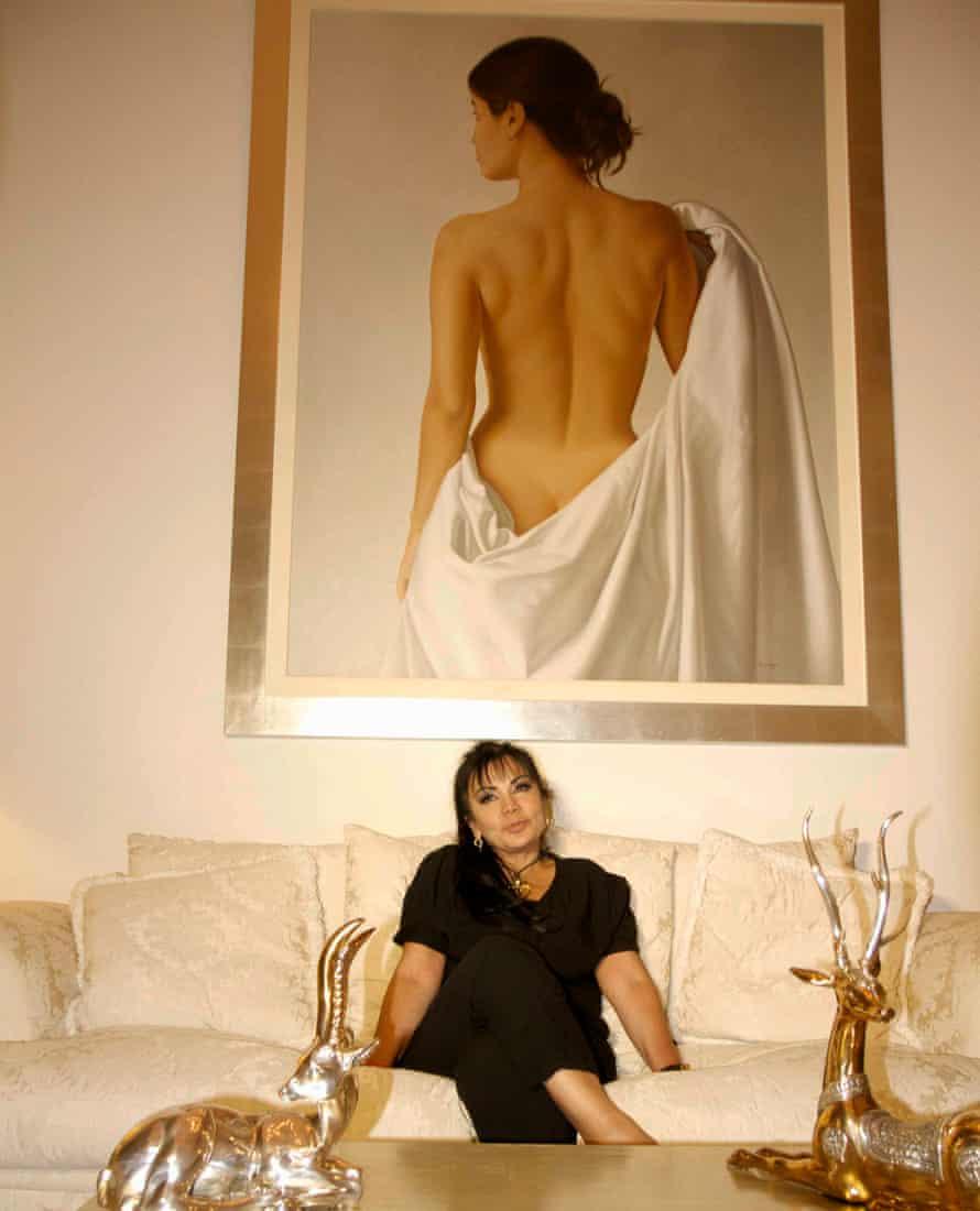 Sandra Ávila Beltran at home.