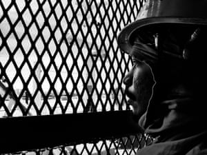 Exhausted seafarer after 10 months at sea
