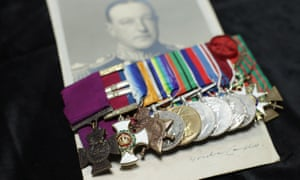 V-Adm Gordon Campbell's medals, which fetched £840,000 at auction.