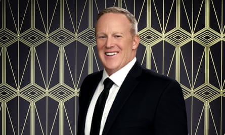 And to the right … Sean Spicer