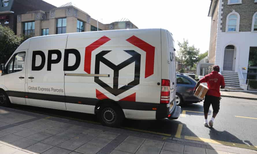 DPD said it reserved the right to charge drivers for the costs of providing a courier service in their absence.