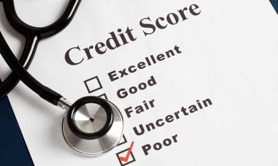 Getting a low credit score can seriously affect people's lives.