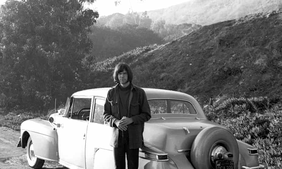 Always facing forward ... Neil Young.