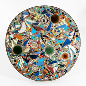 Mesa de mosaico, 1947