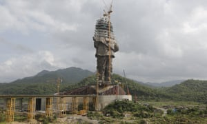 The Statue of Unity will be unveiled on 31 October.