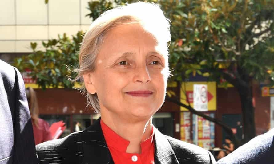 Naturopath Marilyn Pauline Bodnar arrives at court in Sydney on Thursday