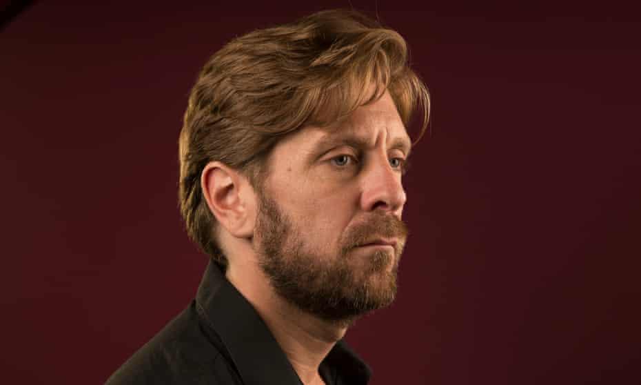 Ruben Östlund photographed by Richard Saker for the Observer New Review.