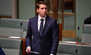 Andrew Hastie in parliament on Tuesday.
