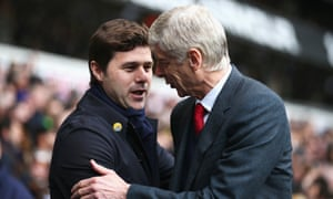 Mauricio Pochettino would like to know if Arsène Wenger felt that staying on at Arsenal for so long was worth it.