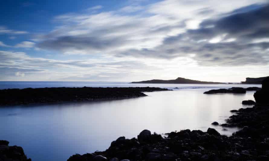 Catterline Bay in Scotland.