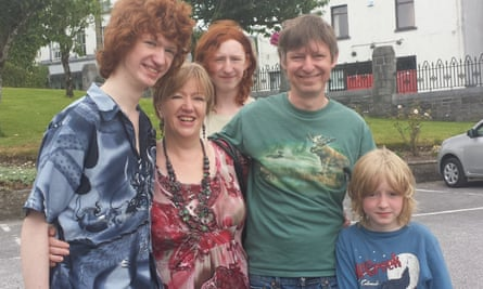 Derran George and his family.