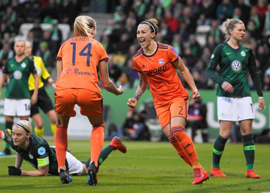 Lucy Bronze and Ada Hegerberg helped Lyon become European title contenders