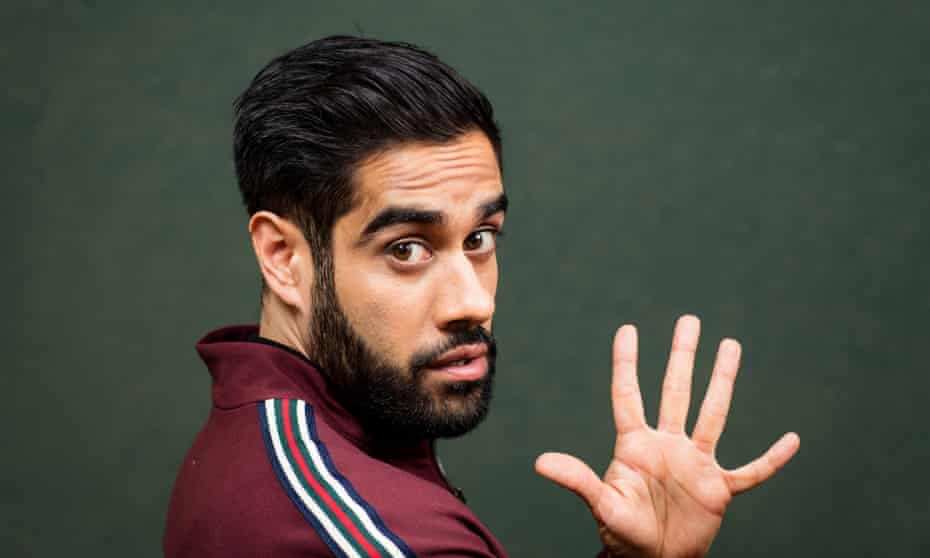 'Out of my comfort zone' … Sacha Dhawan.