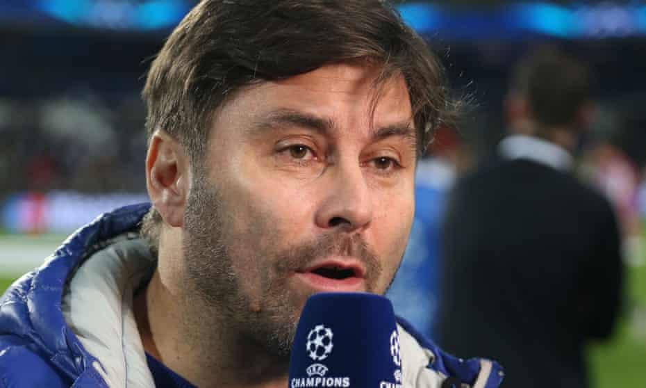 Belgian sports journalist and TV presenter Stephane Pauwels