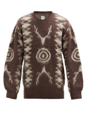 A statement knit adds texture and depth to an outfit. Stag motif, £345, South2 West8, matchesfashion.com