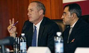 Professor Andre van der Merwe and Professor Rafique Moosa