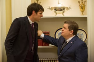 Patton Oswalt with Timothy Simons in Veep