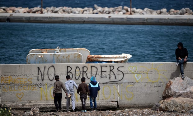 no borders migranti greasy