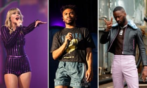 Taylor Swift, Kevin Abstract and GoldLink.