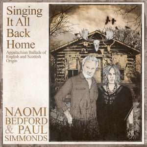 Naomi Bedford and Paul Simmonds: Singing It All Back Home album artwork