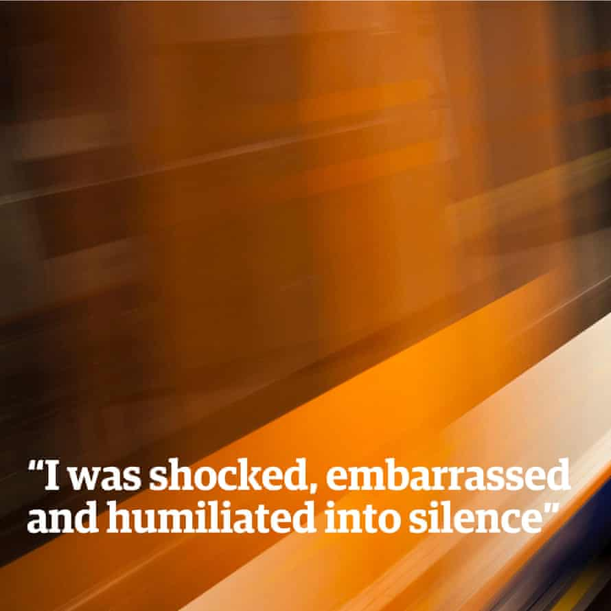"""""""I was shocked, embarrassed and humiliated into silence."""""""