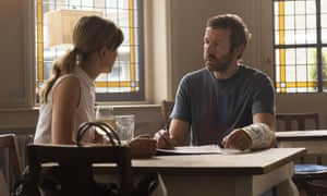 Chris O'Dowd and Rosamund Pike in State of the Union