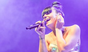 Lily Allen Performing At The 02 Shepherd's Bush Empire