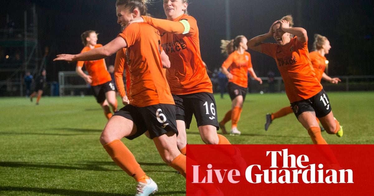 Womens Champions League draw, Michael ONeill joins Stoke – live!