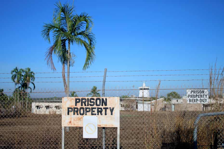 The Don Dale youth detention centre in the Northern Territory.
