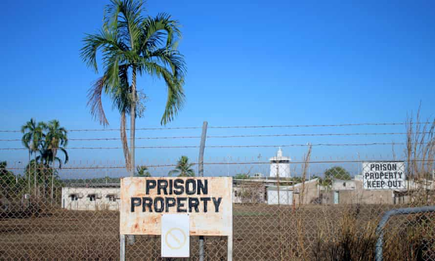 Barbed wire fences surround the Don Dale Youth Detention Centre located near Darwin in the Northern Territory, Australia, July 27, 2016. AAP/Neda Vanovac/via REUTERS ATTENTION EDITORS - THIS IMAGE WAS PROVIDED BY A THIRD PARTY. EDITORIAL USE ONLY. NO RESALES. NO ARCHIVE. AUSTRALIA OUT. NEW ZEALAND OUT.