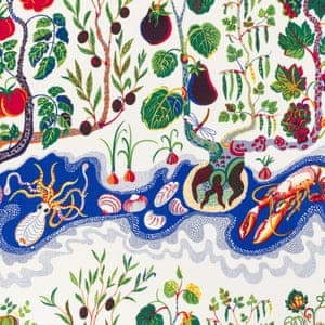 Josef Frank, Italian Dinner, 1943-45 As well as over 2,000 pieces of furniture, Frank designed textile patterns full of colour and fecundity