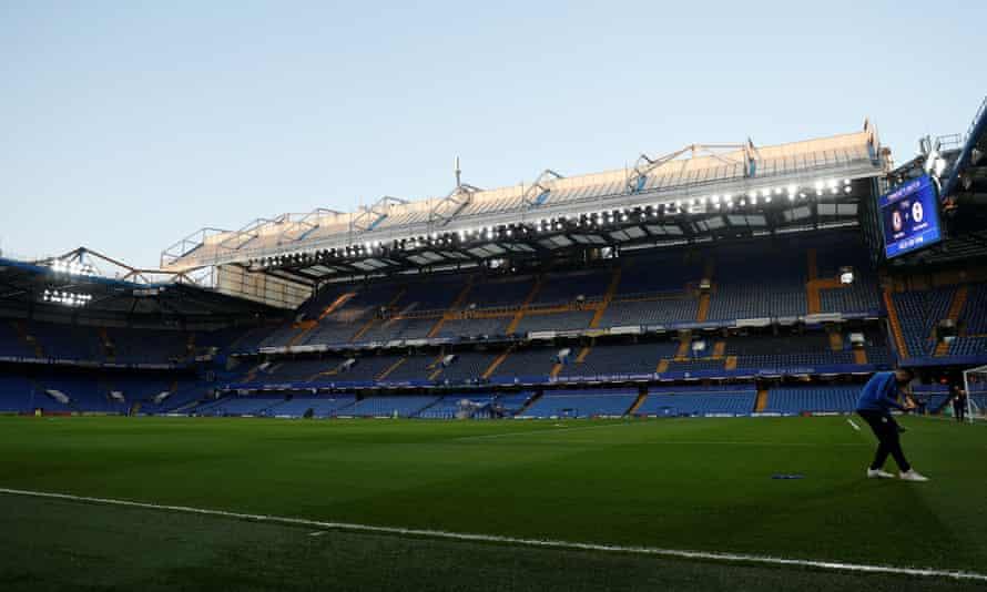 Stamford Bridge, London, home of Chelsea FC