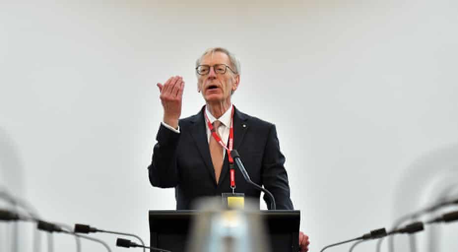 Former banking royal commissioner Kenneth Hayne