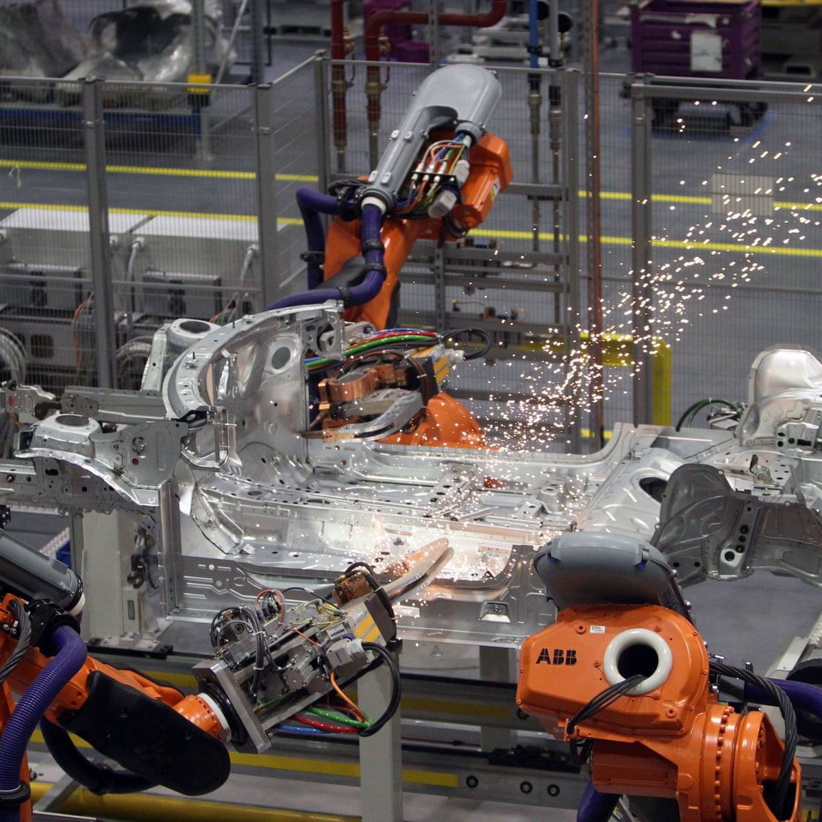 Automation To Take 1 In 3 Jobs In Uk S Northern Centres Report Finds Robots The Guardian