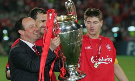 Rafael Benítez: 'Liverpool can do it but they have to manage the pressure'