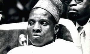 July 1977: Seyni Kountché, president of Niger, who deposed Hamani Diori in a coup in 1974