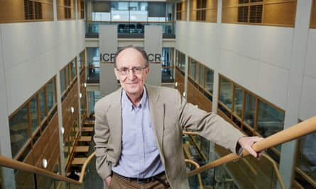 Professor Mel Greaves, knighted in the New Year honours list.