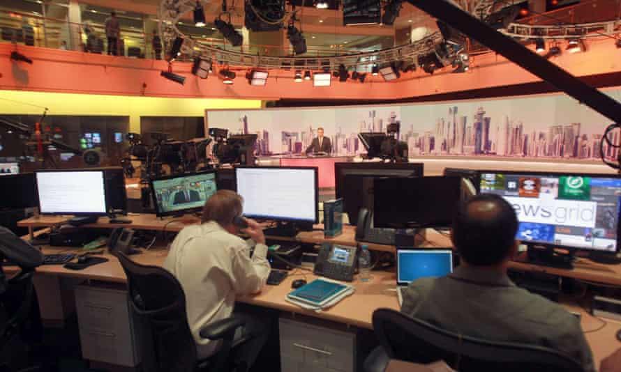 The al-Jazeera studios in Doha.