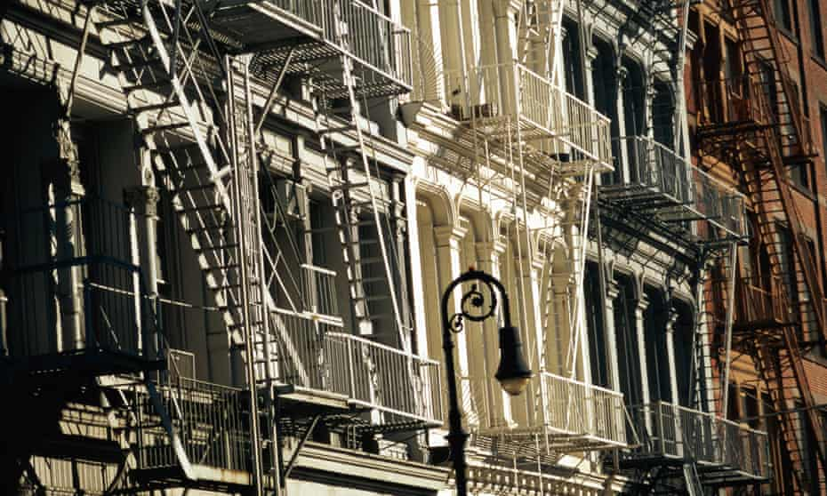 New York's SoHo district is still home to some of the world's most famous cast-iron architecture.