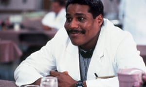 Bill Nunn as Bradley, the physical therapist, in Regarding Henry, 1991.