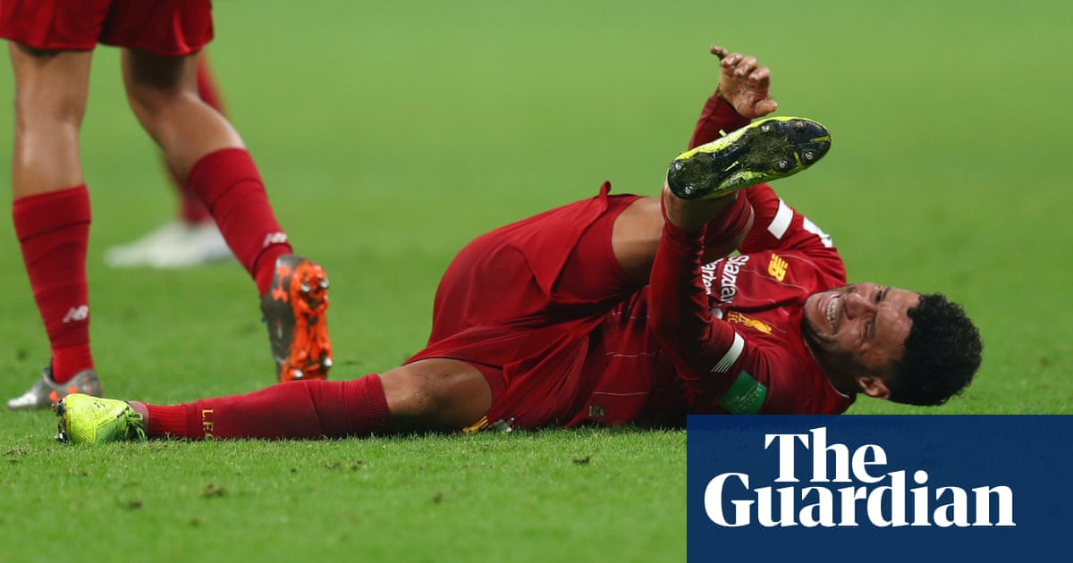 Alex Oxlade-Chamberlain has damaged ankle ligaments, Jürgen Klopp confirms