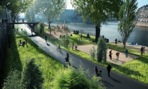 Hidalgo plans to pedestrianise the right bank of the Seine .