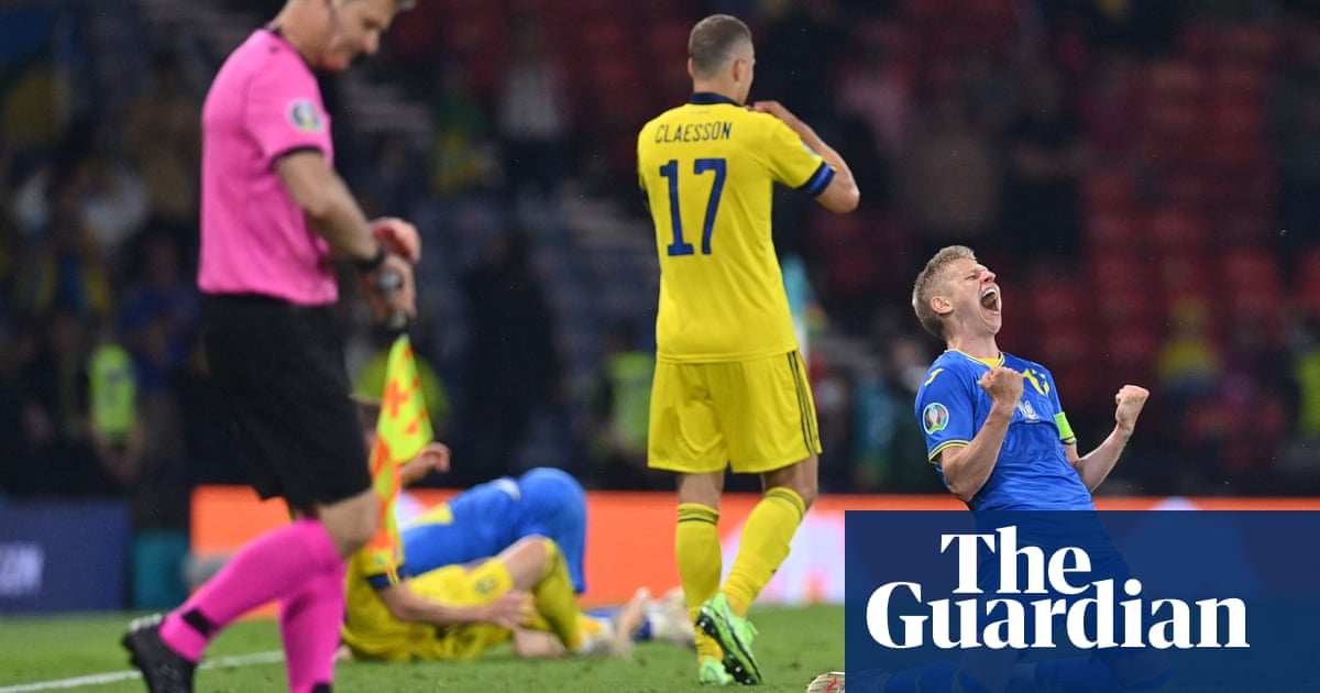 Ukraine will have to play 'game of our lives' to beat England, says Zinchenko