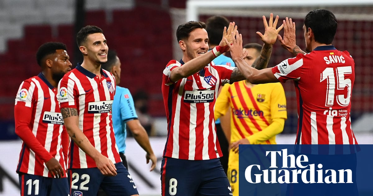 Diego Simeones new and improved Atlético Madrid on title trail again | Sid Lowe