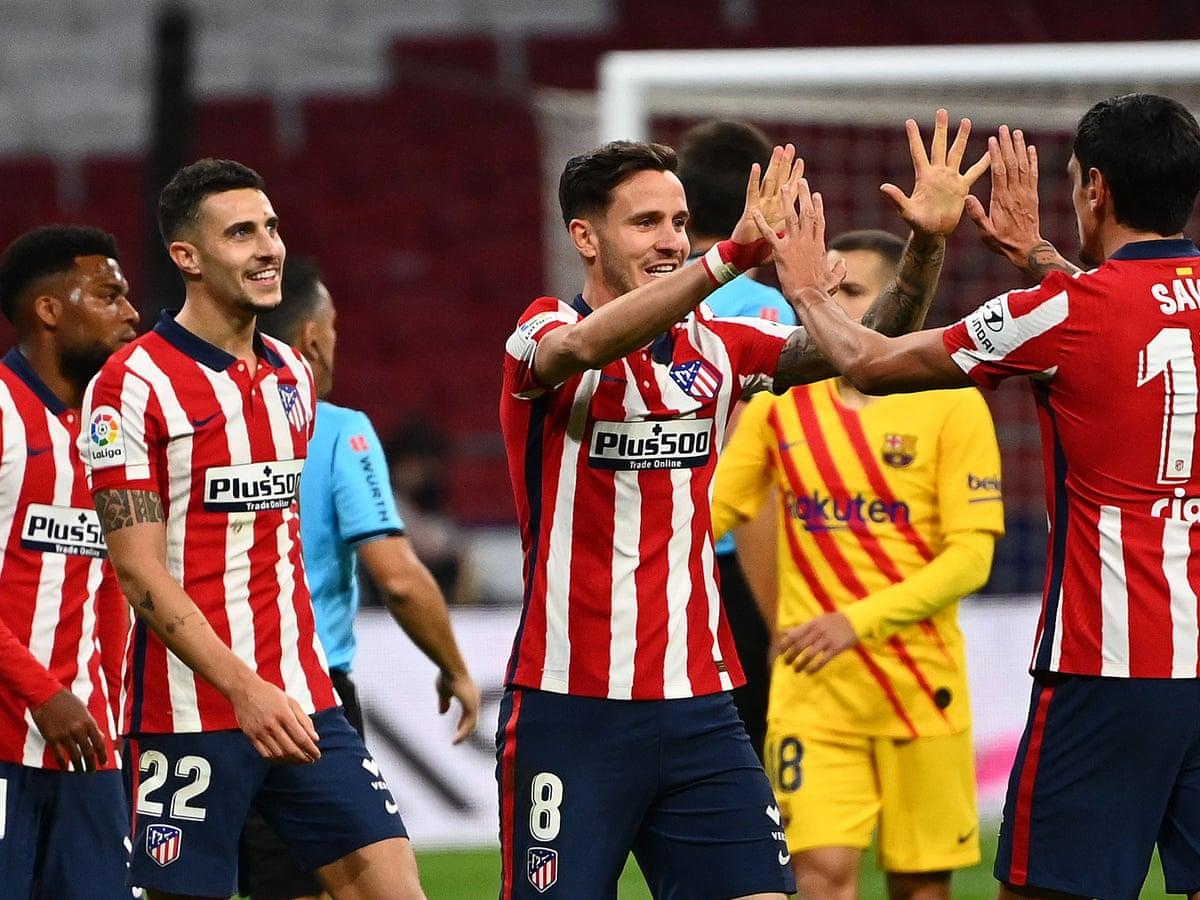 Diego Simeone S New And Improved Atletico Madrid On Title Trail Again La Liga The Guardian